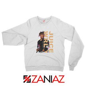 Juice Wrld Merch Sweatshirt Fan Music Rapper Sweatshirt Size S-2XL White
