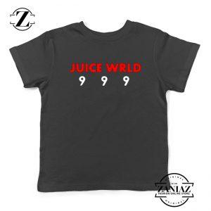 Juice Wrld Music Kids T-Shirt American Music Youth Shirts Black