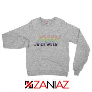 Juice Wrld Rainbow Sweatshirt Juice Wrld Sweatshirt Size S-2XL