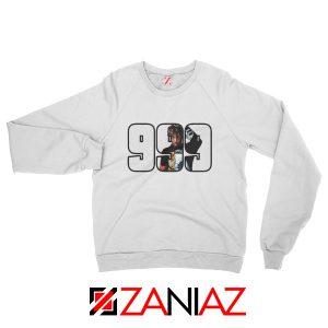 Juice Wrld Rap Hip Hop Sweatshirt American Music Sweatshirt Size S-2XL White