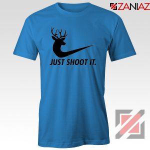 Just Shoot It Parody T-Shirt Humor Women Tee Shirt Size S-3XL