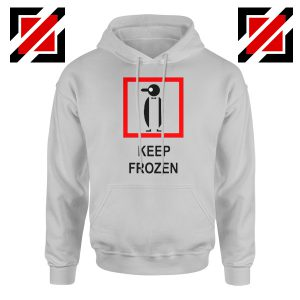 Keep Frozen Penguin Hoodie Animal Lover Women Hodie Size S-2XL Sport Grey
