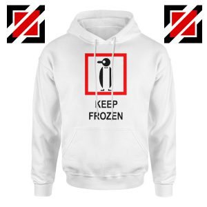 Keep Frozen Penguin Hoodie Animal Lover Women Hodie Size S-2XL White