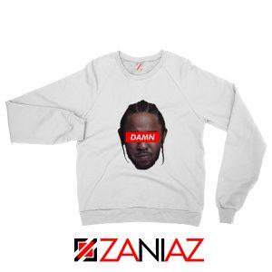 Kendrick Lamar DAMN Sweatshirt Music Lover Sweatshirt Size S-2XL White