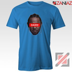 Kendrick Lamar DAMN T-Shirt Music Lover Tee Shirt Size S-3XL Blue