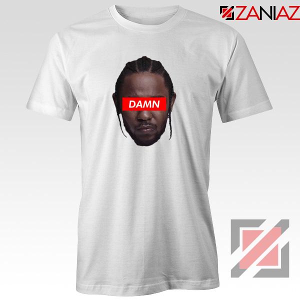 Kendrick Lamar DAMN T-Shirt Music Lover Tee Shirt Size S-3XL White