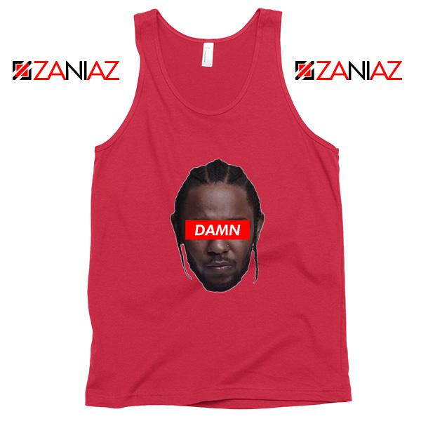 Kendrick Lamar DAMN Tank Top Music Lover Tank Top Size S-3XL Red