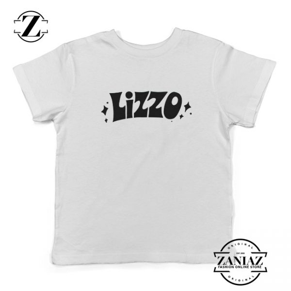 LIZZO American Singer Kids Shirts Best Gift Youth T-Shirt Size S-XL White