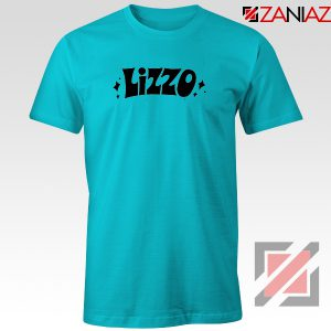 LIZZO American Singer Tee Shirt Funny Gift Women T-Shirt Size S-3XL Light Blue