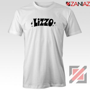 LIZZO American Singer Tee Shirt Funny Gift Women T-Shirt Size S-3XL White