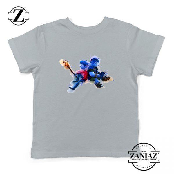 Lan Lightfoot Onward Youth Shirts Pixar Studios Kids T-Shirt Size S-XL