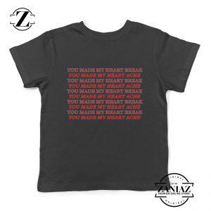 Lucid Dreams Lyrics Kids Shirts Juice WRLD Rapper Youth Tshirt Size S-XL