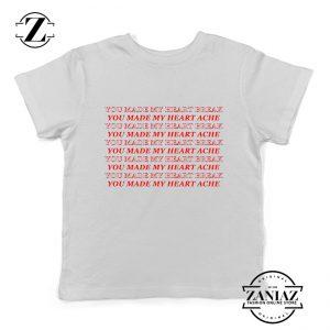 Lucid Dreams Lyrics Kids Shirts Juice WRLD Rapper Youth Tshirt Size S-XL White