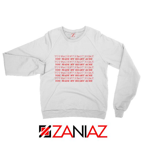 Lucid Dreams Lyrics Sweatshirt Juice WRLD Rapper Sweatshirt White
