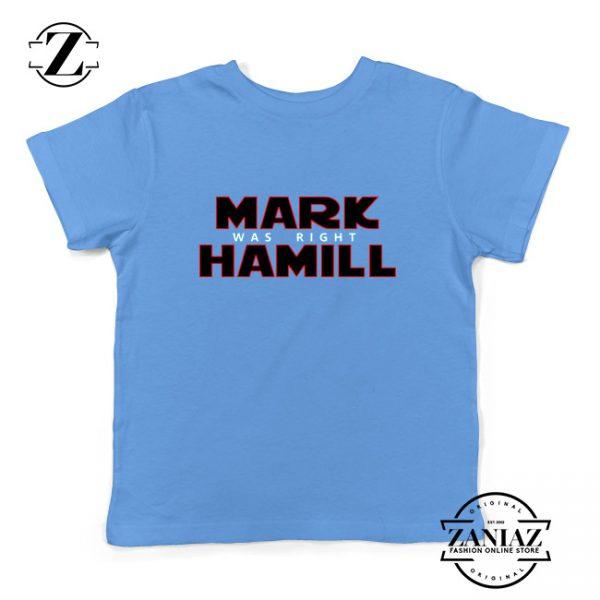 Mark Hamill Youth Shirt Star Wars Best Gift Kids T-Shirt Size S-XL