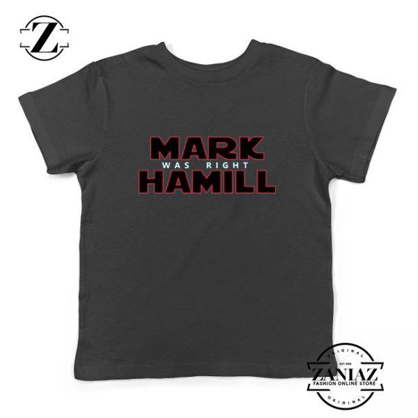 Mark Hamill Youth Shirt Star Wars Best Gift Kids T-Shirt Size S-XL Black