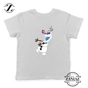 Olaf I'm On a Mission Kids T-Shirt Disney's Frozen Youth Shirts White