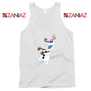 Olaf I'm On a Mission Tank Top Disney's Frozen Tank Top Size S-3XL White