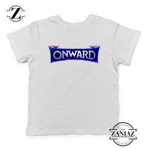 Onward Movie Logo Youth T-Shirt Disney PIXAR Kids Shirts Size S-XL