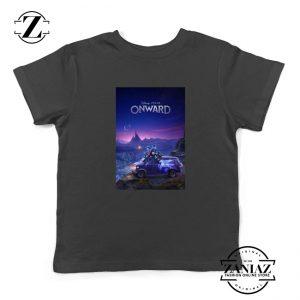 Onward Poster Youth Shirts Walt Disney Studio Kids Shirts Size S-XL