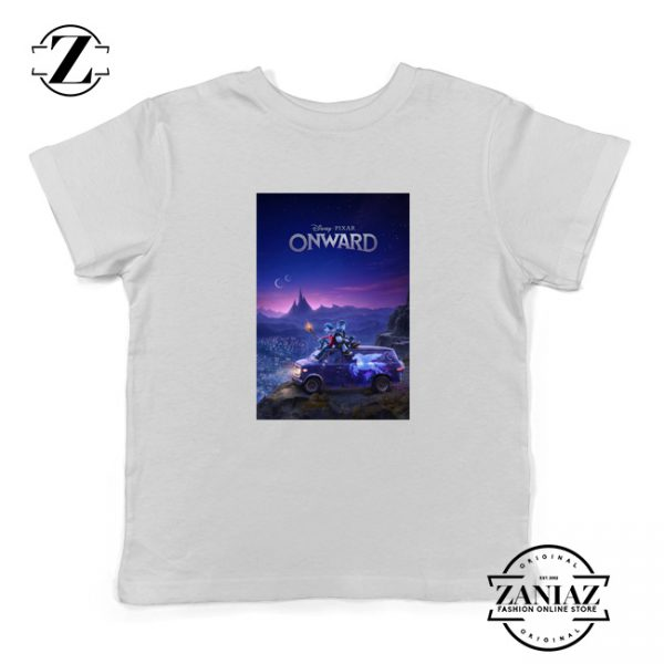 Onward Poster Youth Shirts Walt Disney Studio Kids Shirts Size S-XL White