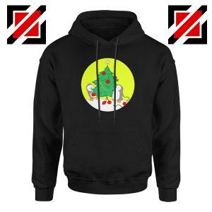 Penguins Decorating Hoodie Christmas Tree Best Hoodie Size S-2XL Black