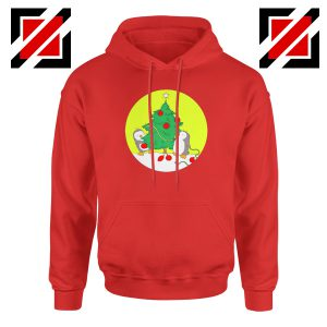 Penguins Decorating Hoodie Christmas Tree Best Hoodie Size S-2XL Red