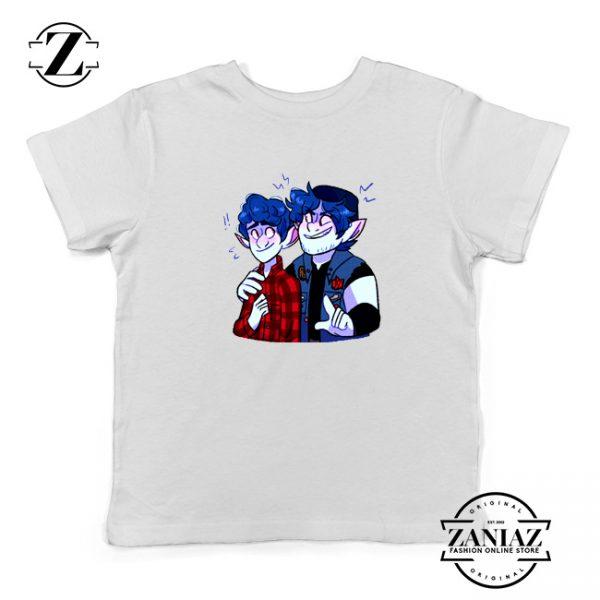 Pixar Onward Film Kids Shirts Ian Lightfoot Youth T-Shirt Size S-XL