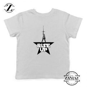 Rise Up Kids Shirt Star Wars The Rise of Skywalker Youth Shirt Size S-XL White