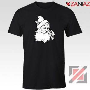 Santa Claus Face T-Shirt Funny Christmas Tee Shirt Size S-3XL Black