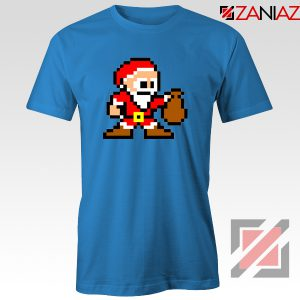 Santa Lego Tee Shirt Merry Christmas Best Tee Shirt Size S-3XL Blue