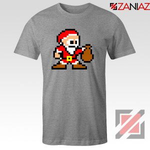 Santa Lego Tee Shirt Merry Christmas Best Tee Shirt Size S-3XL Sport Grey