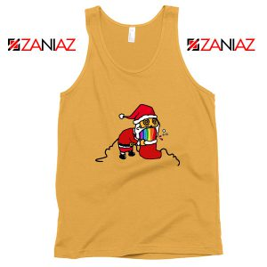 Santa Rainbow Tank Top Funny Christmas Gift Tank Top Size S-3XL Sunshine