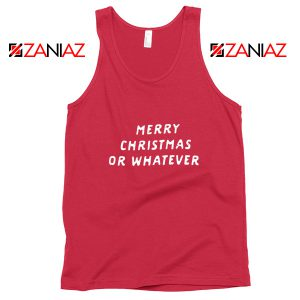 Sarcastic Christmas Tank Top Merry Christmas Tank Top Size S-3XL Red