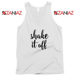 Shake It Off Lyrics Tank Top Taylor Swift Singer Tank Top Size S-3XL