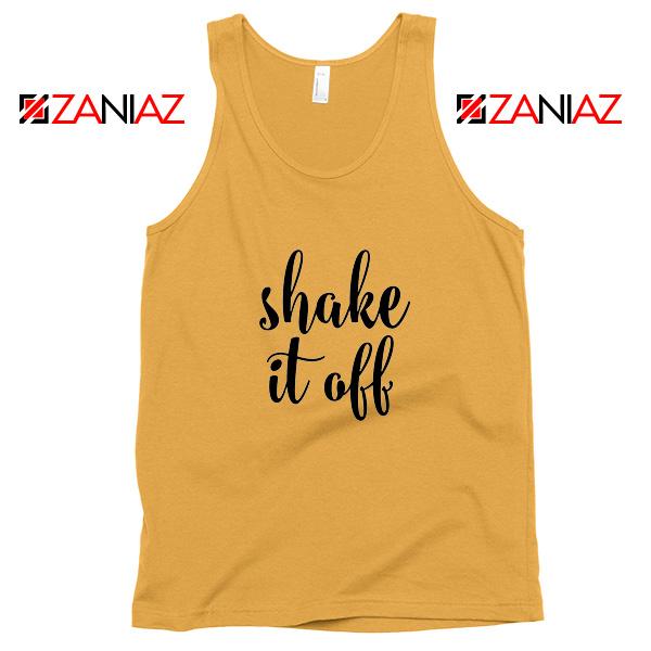 Shake It Off Lyrics Tank Top Taylor Swift Singer Tank Top Size S-3XL Sunshine