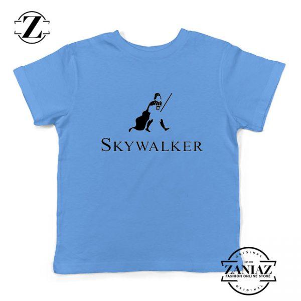 Skywalker Father Kids T-Shirt Star Wars Skywalker Youth Shirts Size S-XL Light Blue