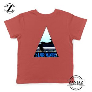 Star Wars Kids Shirt No One's Ever Really Gone Youth Tshirt Size S-XL Red