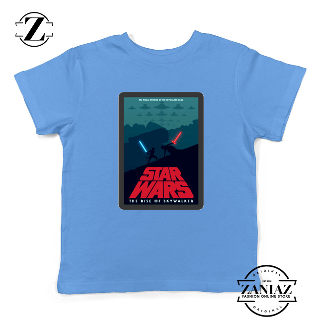 Star Wars Retro Youth T Shirt The Rise Of Skywalker Kids Shirts