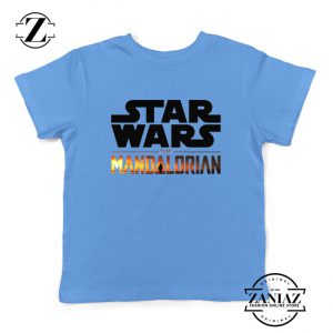 Star Wars The Mandalorian Kids Tee Shirts American TV Series Size S-XL