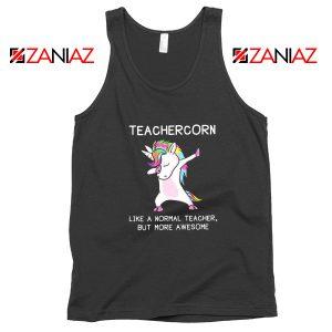Teacher Unicorn Tank Top Dabbing Unicorn Teacher Tank Top Size S-3XL