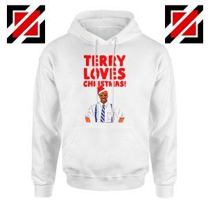 Terry Jeffords Christmas Hoodie Brooklyn Nine Nine Hoodie Size S-2XL White