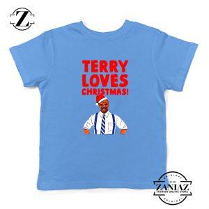 Terry Jeffords Christmas Kids T-Shirt Brooklyn Nine Nine Youth Shirts