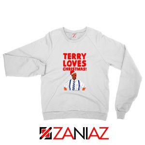 Terry Jeffords Christmas Sweatshirt Brooklyn Nine Nine Sweatshirt White