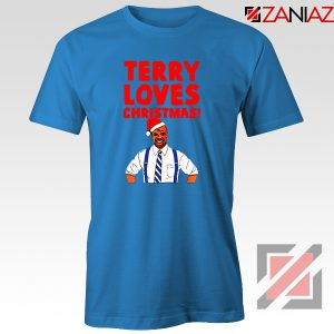 Terry Jeffords Christmas T-Shirt Brooklyn Nine Nine Tee Shirt Size S-3XL Blue