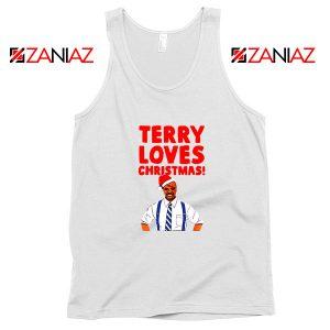 Terry Jeffords Christmas Tank Top Brooklyn Nine Nine Tank Top White