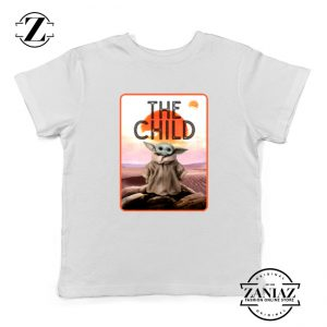The Child Baby Yoda Star Wars Character Kids Tee Shirt Size S-XL White