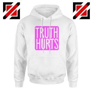 Truth Hurts Lyrics Hoodie Lizzo Singer Woman Hoodie Size S-2XL White