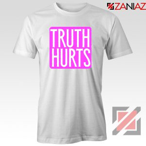 Truth Hurts Lyrics T-Shirt Lizzo Singer Woman Tee Shirt Size S-3XL White