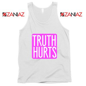 Truth Hurts Lyrics Tank Top Lizzo Singer Tank Top Size S-3XL White